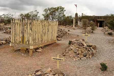 Picture of Boot Hill in Tombstone AZ