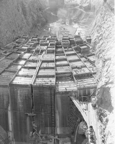 Hoover Dam Historic Photos