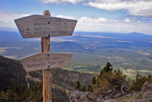 Humphreys Peak Trail - Almost To The Summit