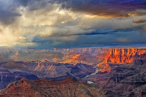 Photo of Navajo Point, Grand Canyon South Rim