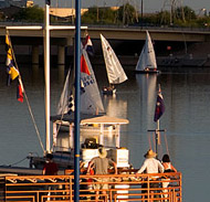 Picture of Sailboats on Tempe Town Lake