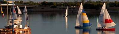 Picture of Sailing On Tempe Town Lake