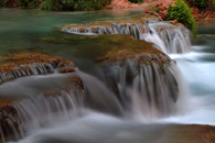Crossing Havasu Creek