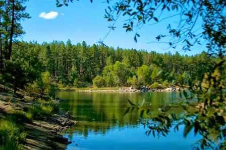 Photo of Goldwater Lake in Prescott, AZ