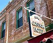 The Conner Hotel - A Haunted Hotel In Jerome, AZ.