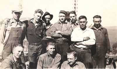 Men Who Worked On Hoover Dam