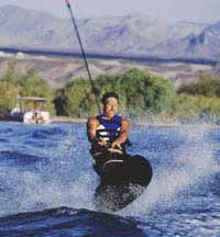Kneeboarding in Bullhead City