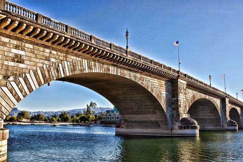 London Bridge At Lake Havasu City Az