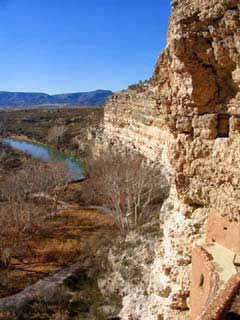 Picture of the View From The Top of Montezuma Castle