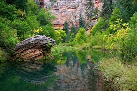 Oak Creek Canyon Directions And Map Location