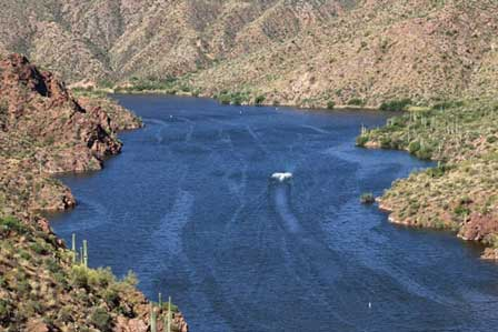 apache lake az map Apache Lake Arizona On The Apache Trail Directions Pictures Boating apache lake az map