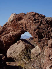 Phoenix Papago Park Hole In The Wall Hiking Fishing Directions Map