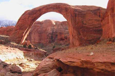 Rainbow Bridge National Monument Lake Powell