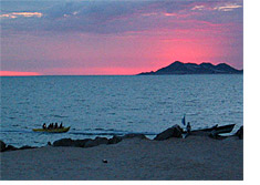 Rocky Point Mexico On The Sea Of Cortez 60 Miles From The Arizona Border