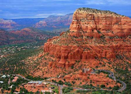 Top Arizona Tourist Attractions – Sedona Tourist Map