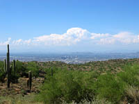 View Across Phoenix From South Mountain