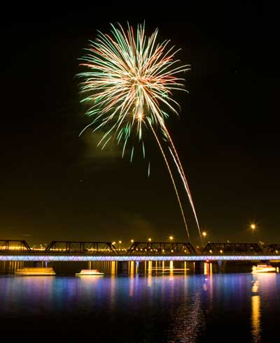 Tempe 4th of July Fireworks