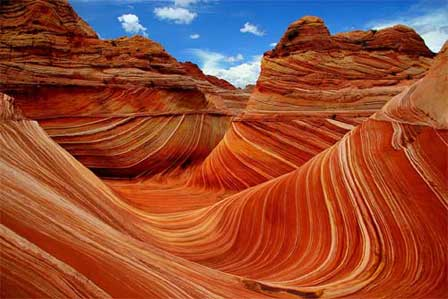 Photo of the Wave at Vermilion Cliffs National Monument