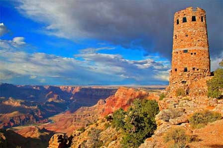Desert View Watchtower Grand Canyon East Entrance